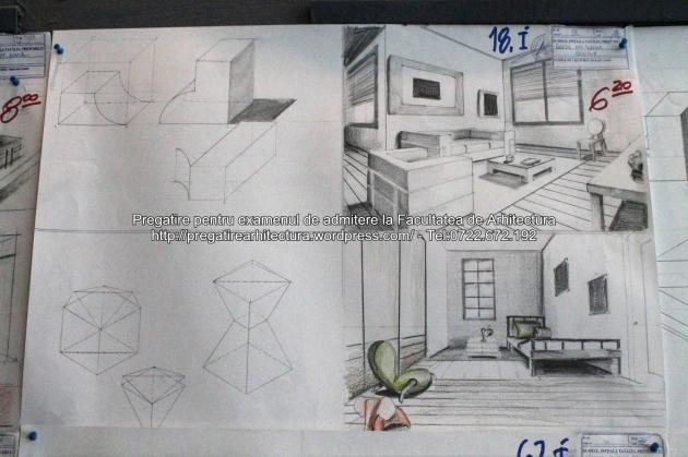 Planse examen admitere Arhitectura de Interior, Mobilier, Design - UAUIM - 2014 - 082