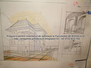 Planse examen admitere Facultatea de Arhitectura - UIAIM - 2004 - 092
