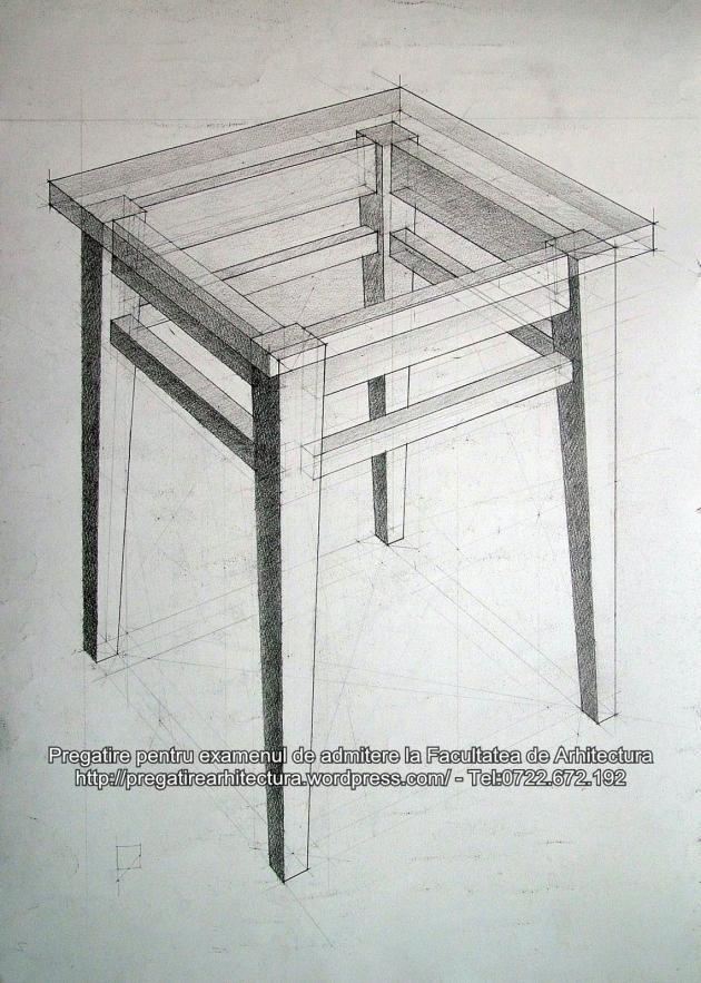 Meditatii desen arhitectura