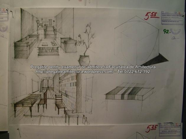 Examen admitere UAUIM 2015 - Arhitectura de interior - 092