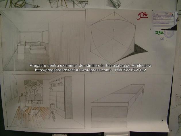 Examen admitere UAUIM 2015 - Arhitectura de interior - 232