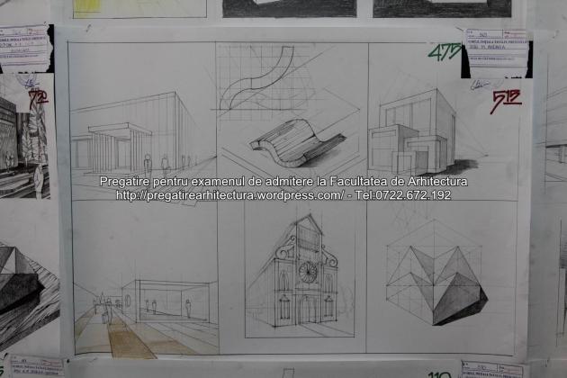 Planse examen de admitere - Facultatea de arhitectura UAUIM - Septembrie 2015 - 475