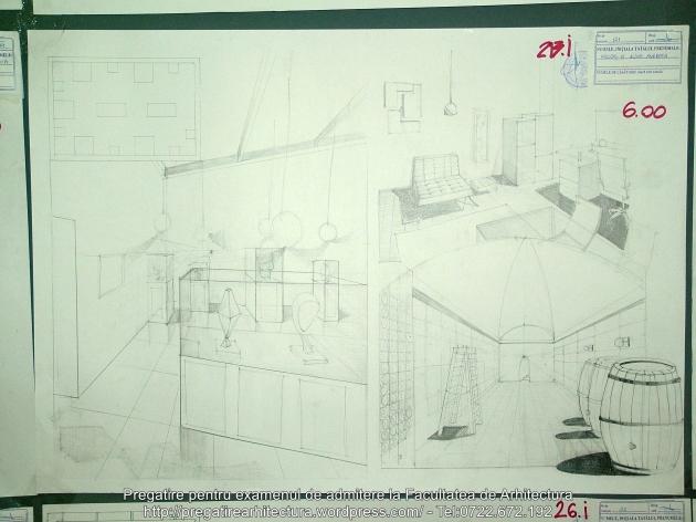 213 - Planse examen admitere Arhitectura de Interior - UAUIM 2016
